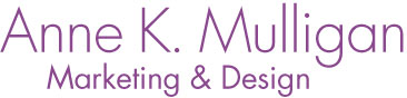 Anne K. Mulligan marketing and design